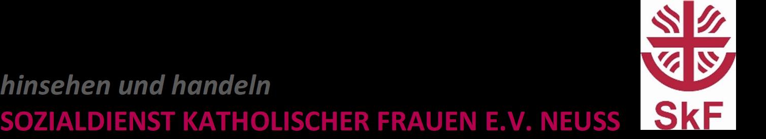 Frauenhaus Neuss | Sozialdienst kath. Frauen e.V. Neuss
